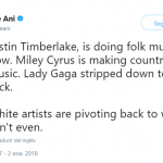 White artists being white. (Photo: Twitter)