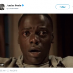 """Jordan Peele tweeted a GIF of """"Get Out"""" star and lead actor nominee Daniel Kaluuya immediately after the best picture announcement. (Photo: Twitter)"""