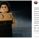 There even is a Lego version of the challenge! (Photo: Instagram)