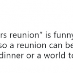 You mean there's been over 20 reunions since the band disolved? (Photo: Twitter)