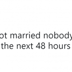 When you don't know how to deal with the news of your lifelong crush getting married… (Photo: Twitter)