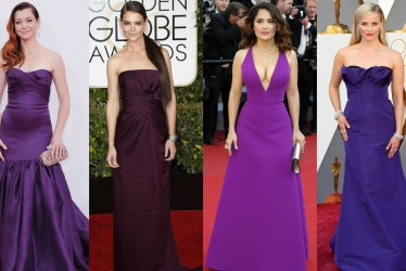 Color Of The Year 2018: 18 Celebrities Wearing Purple Dresses On The Red Carpet