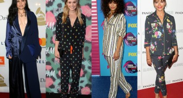 PJ Trend: 17 Celebrities Looking Chic In Their Pajamas