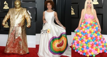 Fashion Fails: The 15 Worst, Most Bizarre Looks Ever Seen On The Grammy's Red Carpet