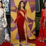 Not everyone joined the Golden Globes 2018 blackout. Check out all of the fashion rulebreakers at last night's red carpet. (Photo: WENN)