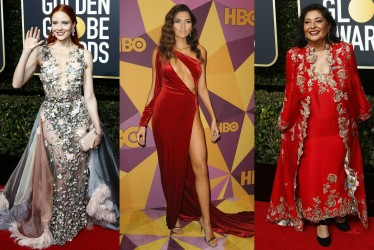 Golden Globes 2018 Fashion Rulebreakers: 15 Stars Who Skipped The All-Black Dress Code and More
