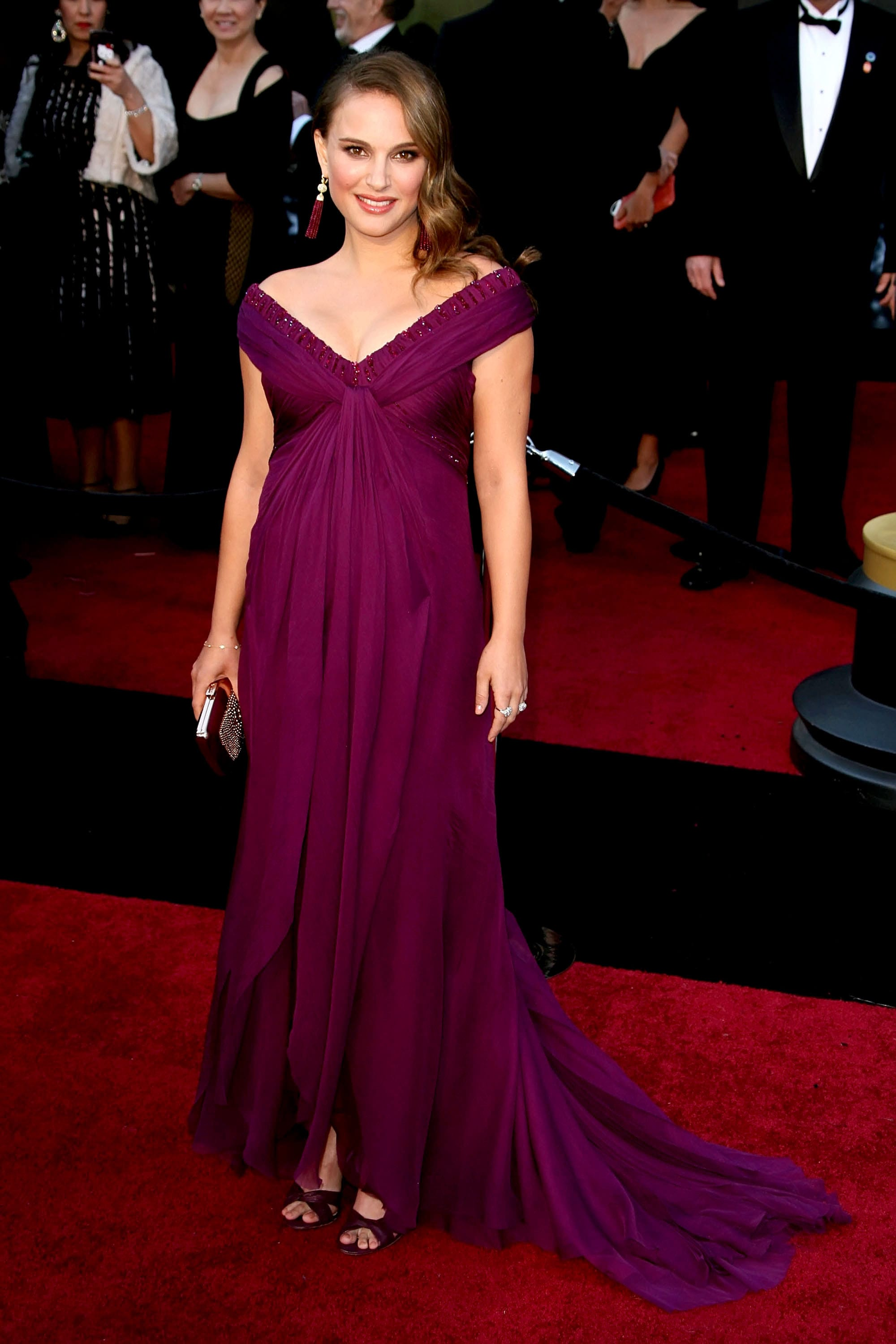 Color Of The Year 2018: 18 Celebrities Wearing Purple Dresses On The ...