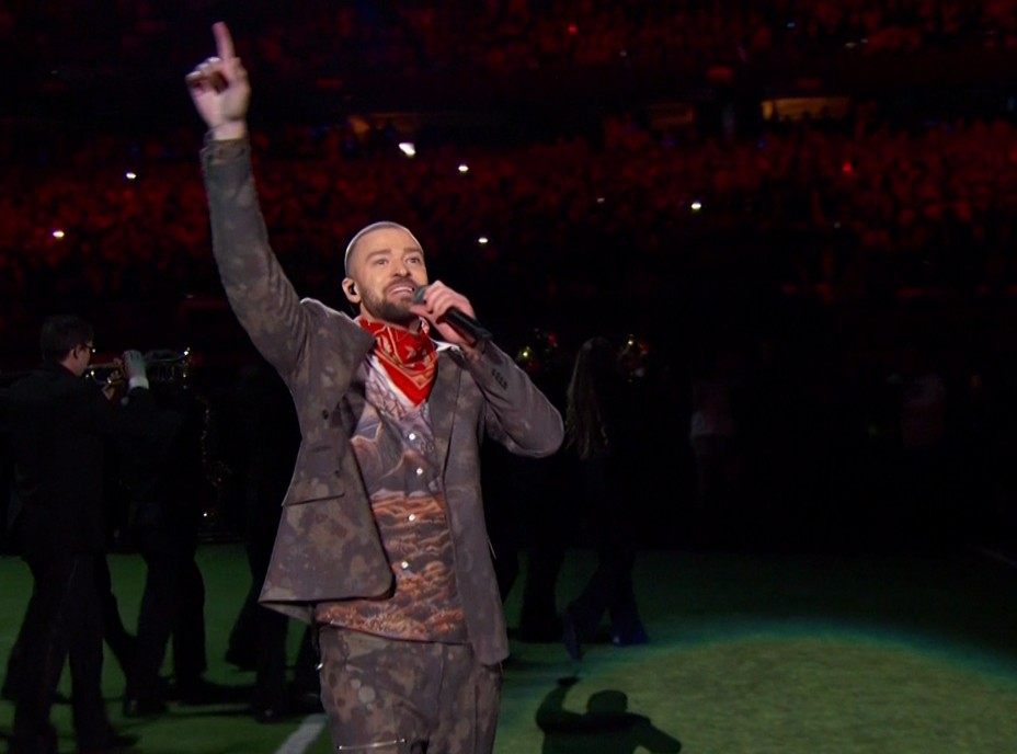 Here are some of the funniest and most savage reactions to Justin Timberlake's 2018 Super Bowl Halftime Show from the overall unimpressed viewers on Twitter. (Photo: WENN)