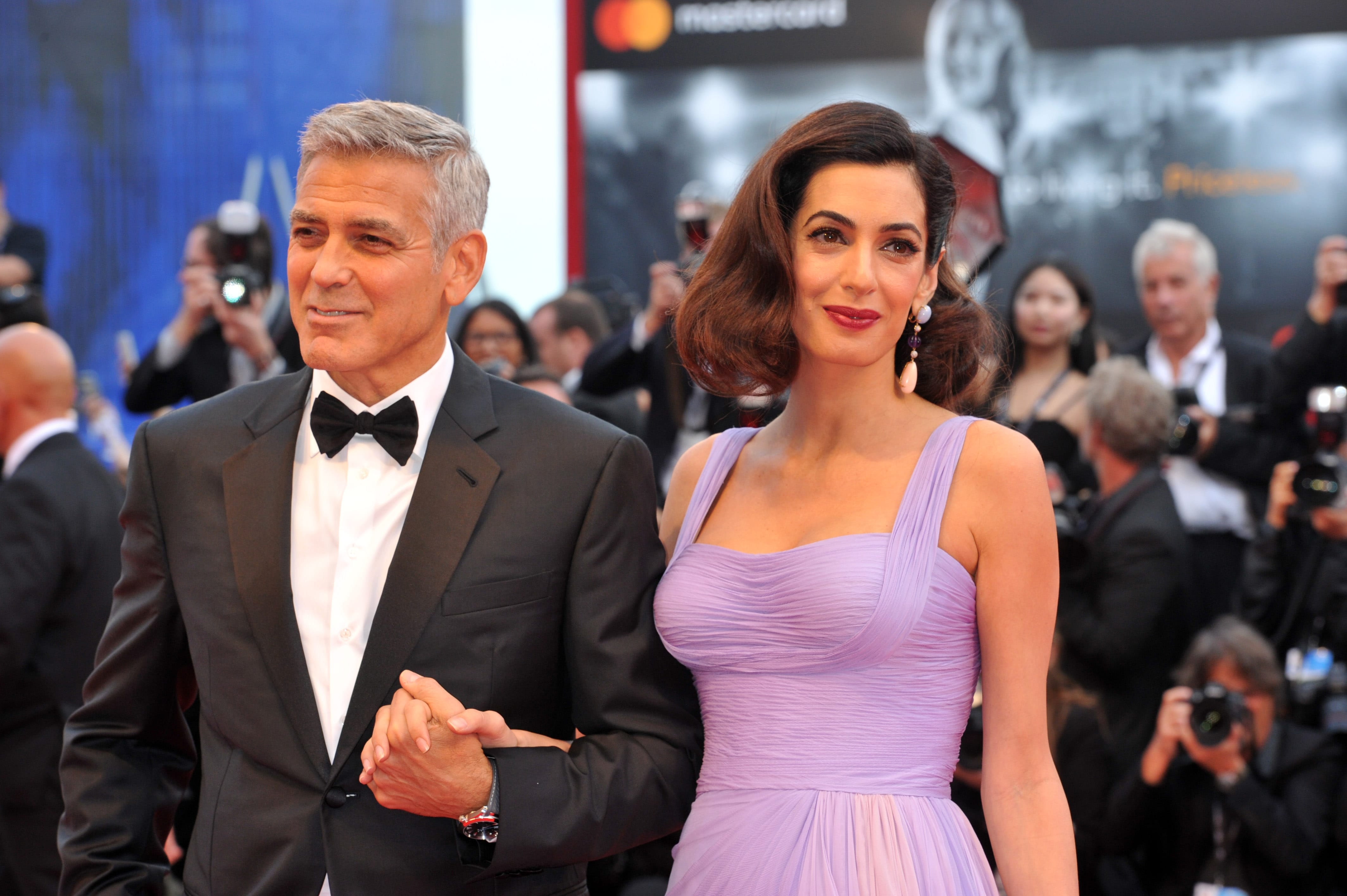 Amal Clooney's achievements throughout her outstanding career as a human rights attorney eclipse her once-Sexiest-Man-Alive husband George Clooney. (Photo: WENN)