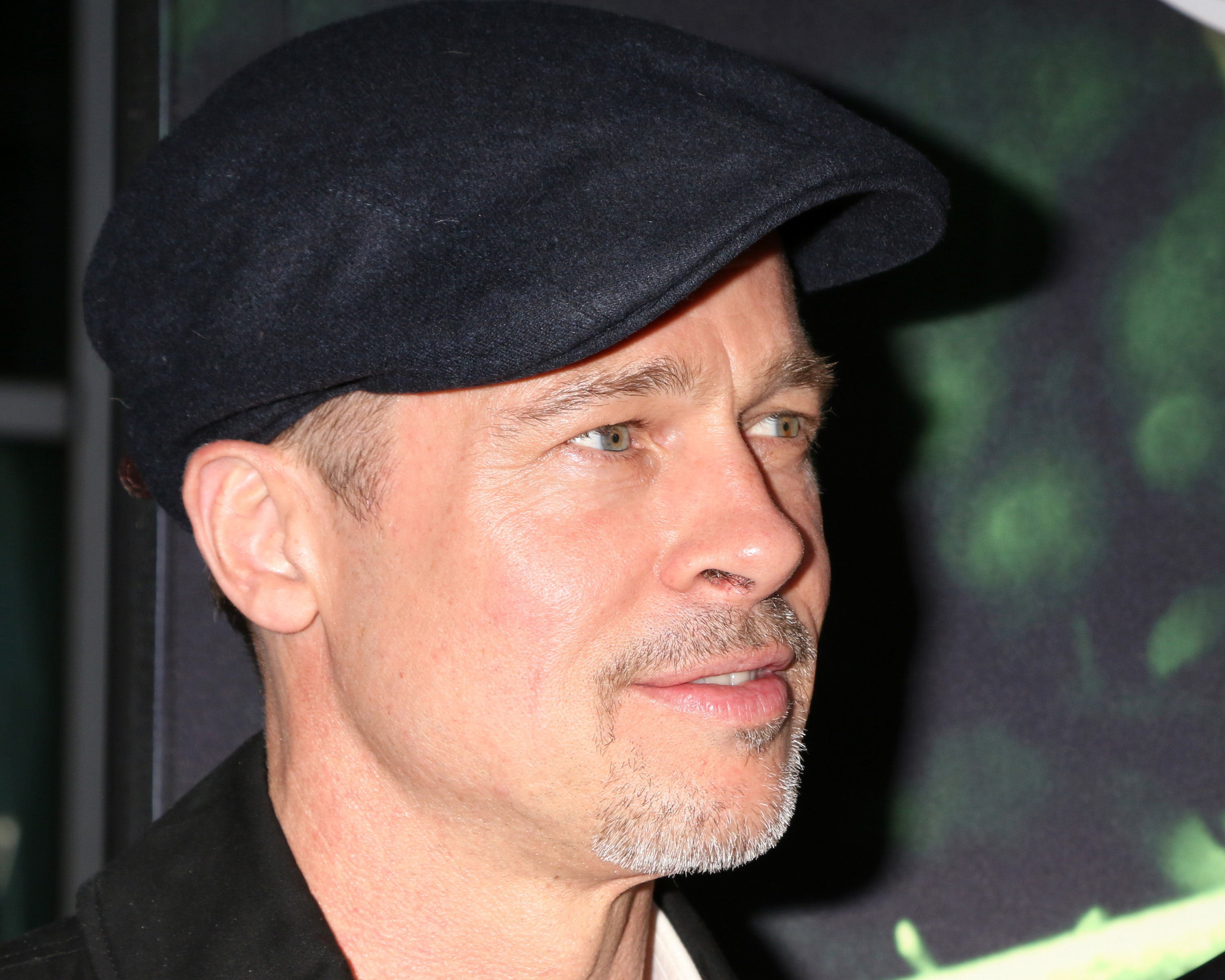 Brad Pitt was in a scary car crash. (Photo: WENN)