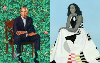 Barack And Michelle Obama's Official Portraits Are Already Memes