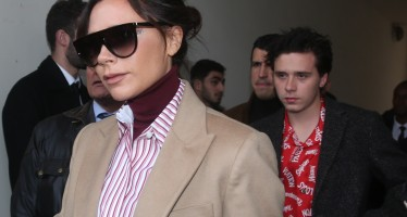 Mommy Approves! Victoria Beckham Celebrates His Son Brooklyn's New Tattoo Made In Her Honor