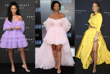 Unapologetically Fierce: Rihanna's 15 Best Red Carpet Looks