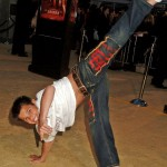 He's practiced martial arts since he was six years old. He has three gold medals from the World Karate Association. (Photo: WENN)