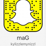 Kylie is known on Snapchat as @kylizzlmynizzl. (Photo: Snapchat)
