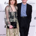 Esquire Townhouse with Dior kicked off in style with Charlie Heaton walking down the red carpet wearing an oversized black suit with high-waisted trousers and light blue button-up shirt. (Photo: WENN)