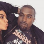 Two photos of Kim and Kanye were also shared on Kanye's Instagram. (Photo: Instagram)