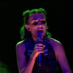 """She could pursue a music career if she wanted too! Millie blew our minds with a fierce rendition of Nicki Minaj's """"Monster"""". Her rapping skills are out of this dimension. (Photo: WENN)"""
