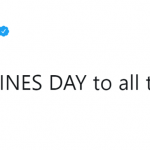 But you ain't with Sophie anymore. How is this supposed to be a happy Valentine's Day? (Photo: Twitter)