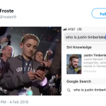 Let us start with this poor kid trying to figure out who TF is Justin Timberlake… (Photo: Twitter)