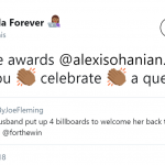 That' how you treat a queen. (Photo: Twitter)