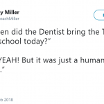 'Cause real life tooth fairy is nothing like that. (Photo: Twitter)