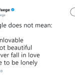 Being single doesn't have do be depressing. (Photo: Twitter)