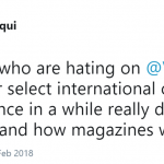 This is how magazines work. (Photo: Twitter)