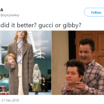 Gibby, of course. (Photo: Twitter)