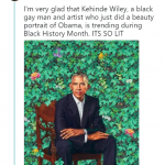 And during Black History Month? That's lit. (Photo: Twitter)