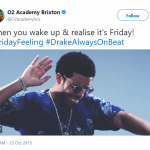 Drake knows it. (Photo: Twitter)