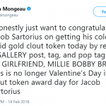 Happy Clout Token Award Day for Jacob Sartorius. (Photo: Twitter)