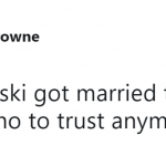 Emily Ratajkowski's wedding is the reason why I have trust issues. (Photo: Twitter)