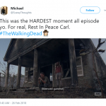 Silenced gunshot was THE hardest moment of last night's episode. (Photo: Twitter)