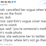 In case you were wondering why these women are Kim's enemies… (Photo: Twitter)