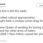 It's been a busy week for petty Kim. (Photo: Twitter)