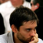 Tobey Maguire - Maguire is most famous as an actor for the three films he made as Spiderman that were directed by Sam Raimi, and these days his exploits at the poker table are probably more notable than anything he is doing onscreen. (Photo: Release)