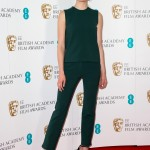 Sophie was radiant at the BAFTA nominations announcement where she wore a perfectly emerald green top and trousers combo by Louis Vuitton. (Photo: WENN)