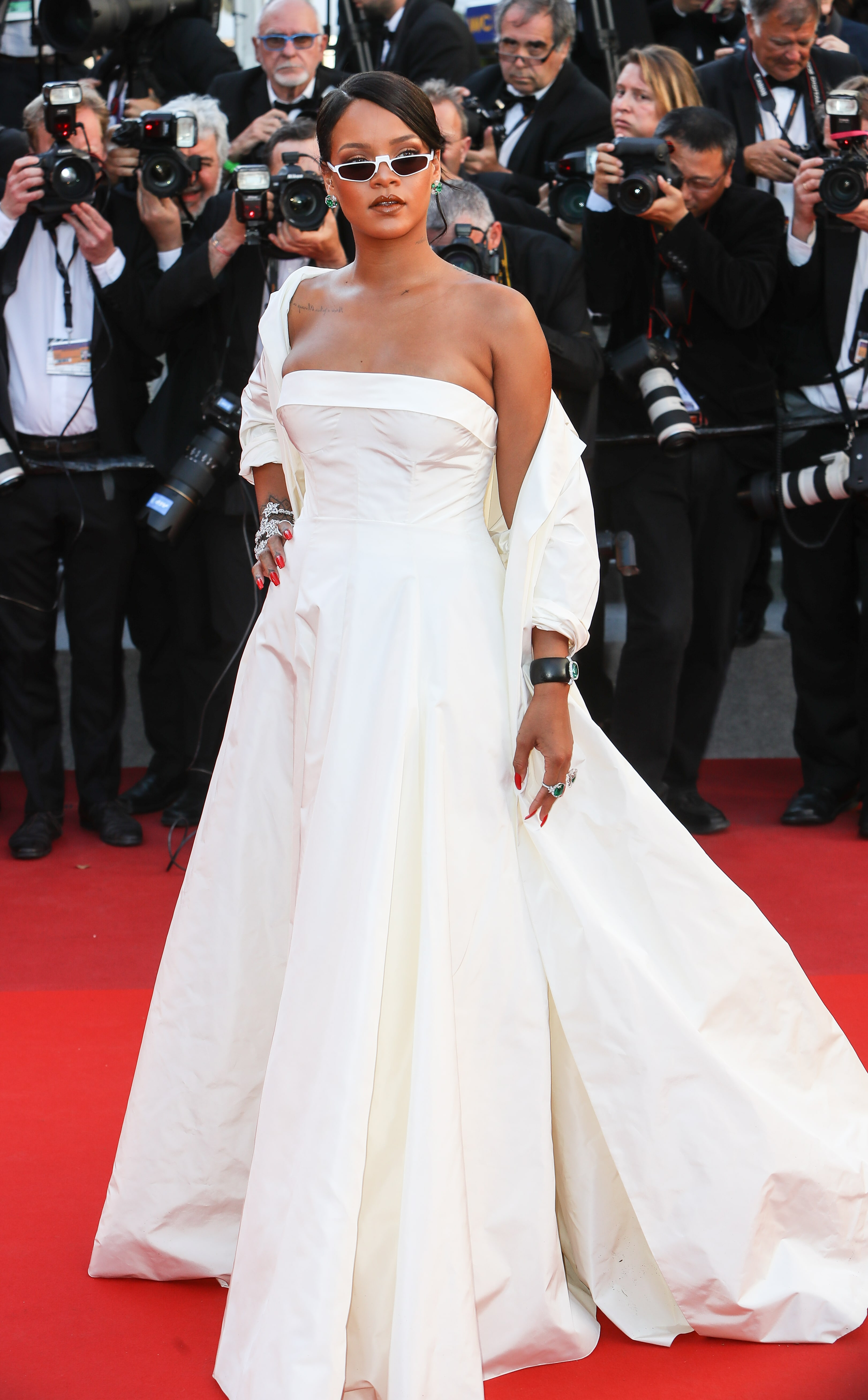 Unapologetically Fierce: Rihanna's 15 Best Red Carpet ...