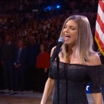 Check out some of the best reactions to Fergie's sexed-up rendition of the US national anthem. (Photo: WENN)