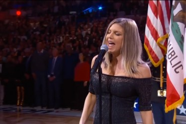 Fergie Sang The National Anthem At NBA All-Star Game And It Was Disastrous
