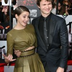 "He's a sensitive guy. When asked if he cried while reading ""The Fault in Our Stars"" Ansel said, ""Yes. Once very 10 pages."" Us too, Ansel! (Photo: WENN)"