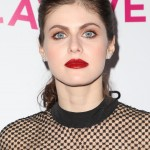 Alexandra Daddario's eyes are as blue as the ocean she's protecting in Bay Watch. (Photo: WENN)
