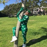 Green on green on green—that's how Robert Downey Jr. celebrated St. Patrick's. (Photo: Instagram)