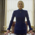 Check out the best reactions to the new Kevin Spacey-less teaser of House of Cards last season. (Photo: Release)