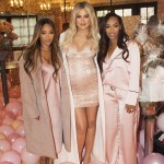 Khloé also celebrate her best friends' birthday, Malika and Khadijah, during the baby shower. (Photo: Instagram)