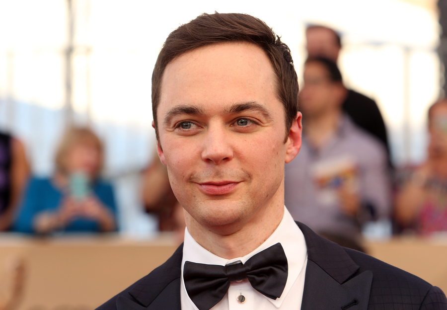 Join us in celebration of his 45th birthday and flip through our photo gallery to learn 15 little known facts about Jim Parsons! (Photo: WENN)