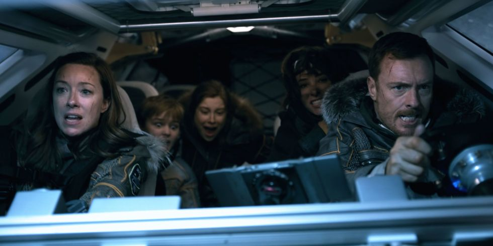"The reboot of the sci-fi series ""Lost in Space"" arrives to Netflix on April 13. (Photo: Release)"