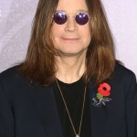 Does Ozzy Osbourne is trying to hide a suspicious pair of red eyes underneath those ever-present sunglasses? Who knows! (Photo: WENN)