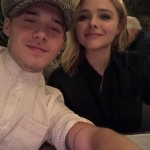 A quick selfie with his girlfriend Chloe Grace Moretz during their romantic Valentine's date. (Photo: Instagram)